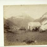 Halte dans les Andes